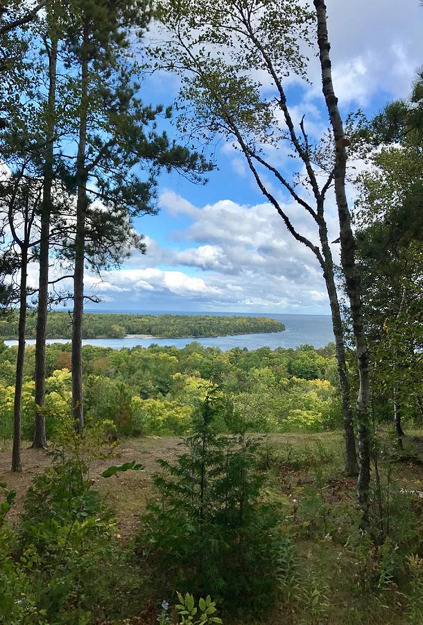 Landscape Photograph - Peninsula at Fish Creek by Diane Sleger