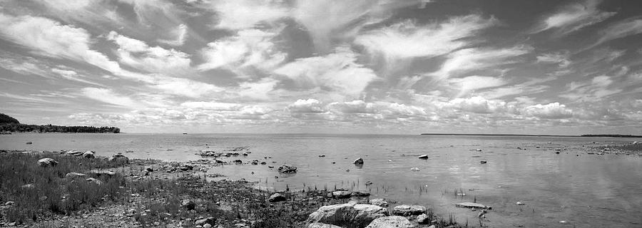 Black And White Photograph - Peninsula State Park by Stephen Mack