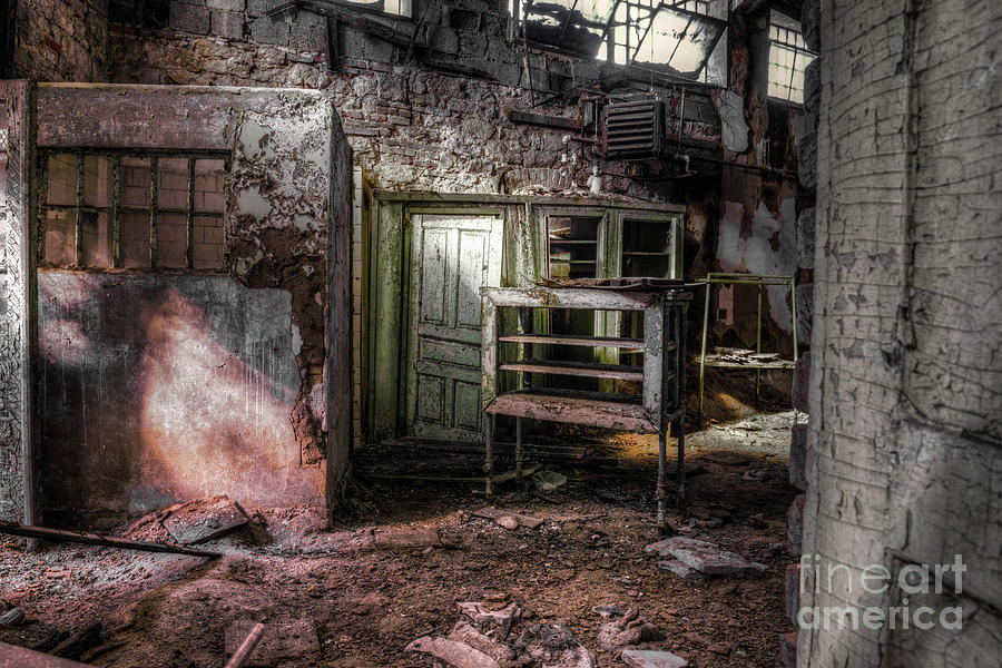 Penitentiary Abandoned by Anthony Sacco