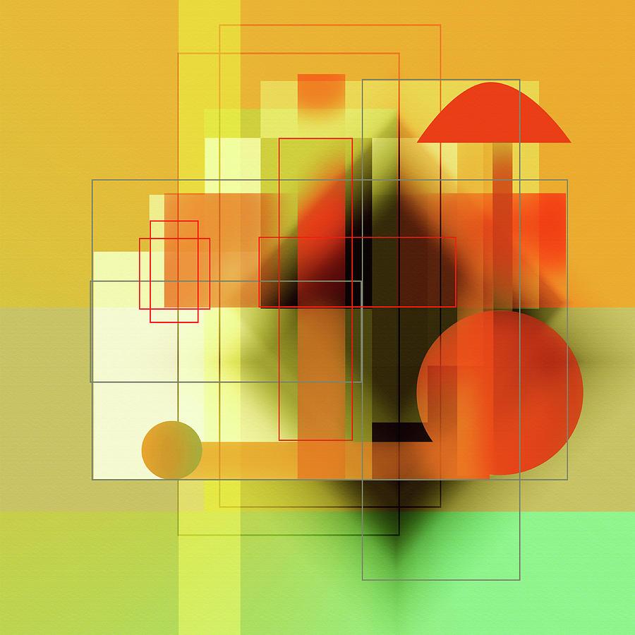 Modern Digital Art - Penman Original-1275 by Andrew Penman