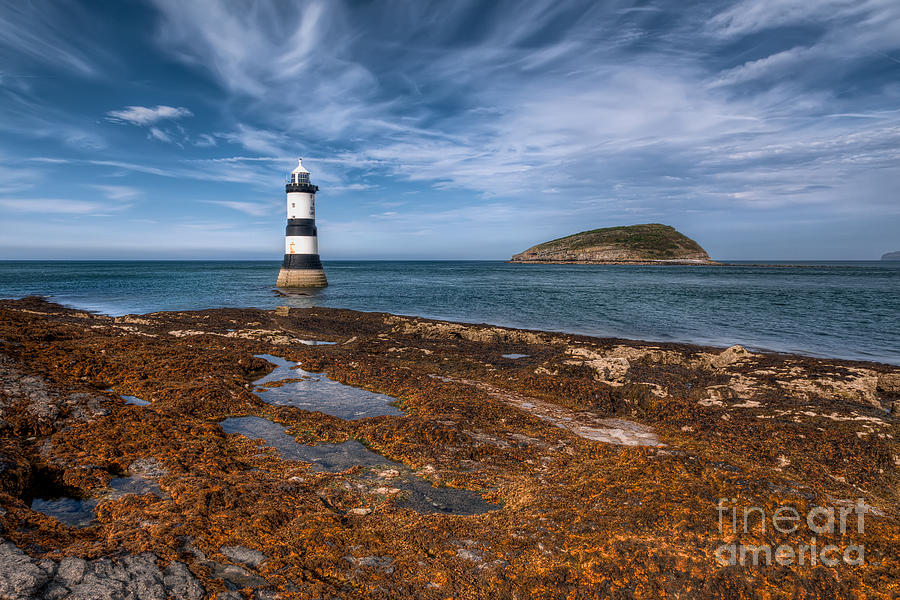 Anglesey Photograph - Penmon Lighthouse by Adrian Evans
