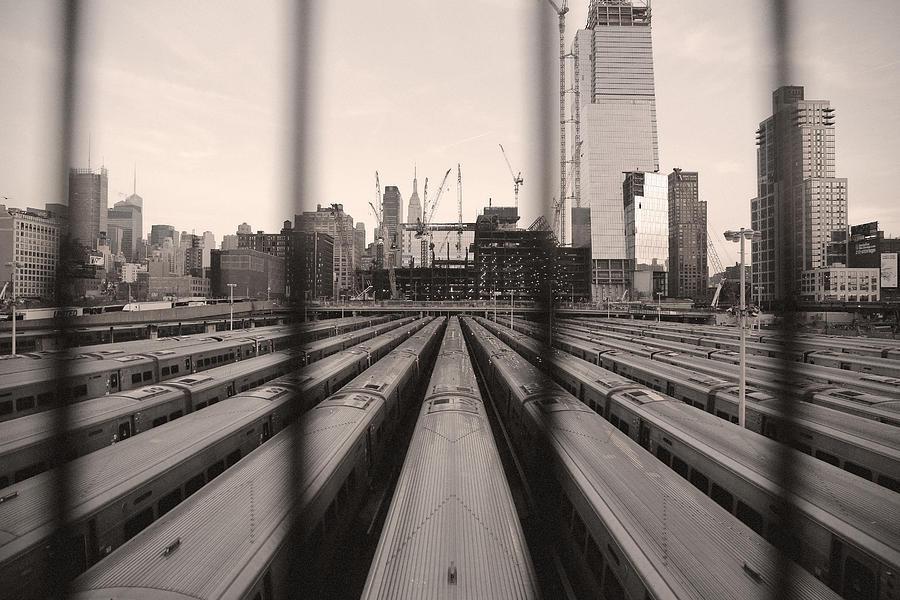 Penn Station Photograph - Penn Geometry by Joanna Madloch