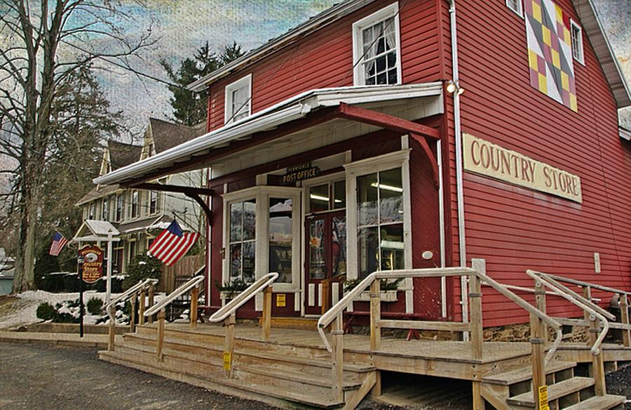 Country Store Photograph - Pennsdale Country Store by Stephanie Calhoun