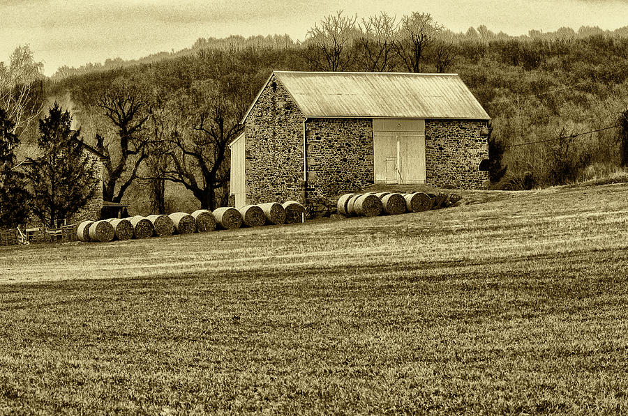 Barn Photograph - Pennsylvania Barn by Bill Cannon