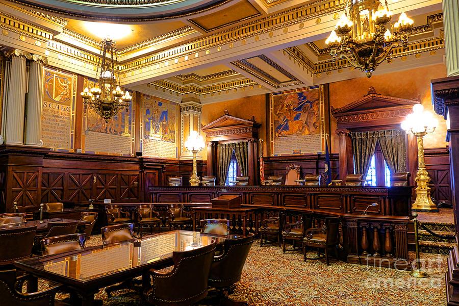 Pennsylvania Photograph - Pennsylvania Supreme Court  by Olivier Le Queinec