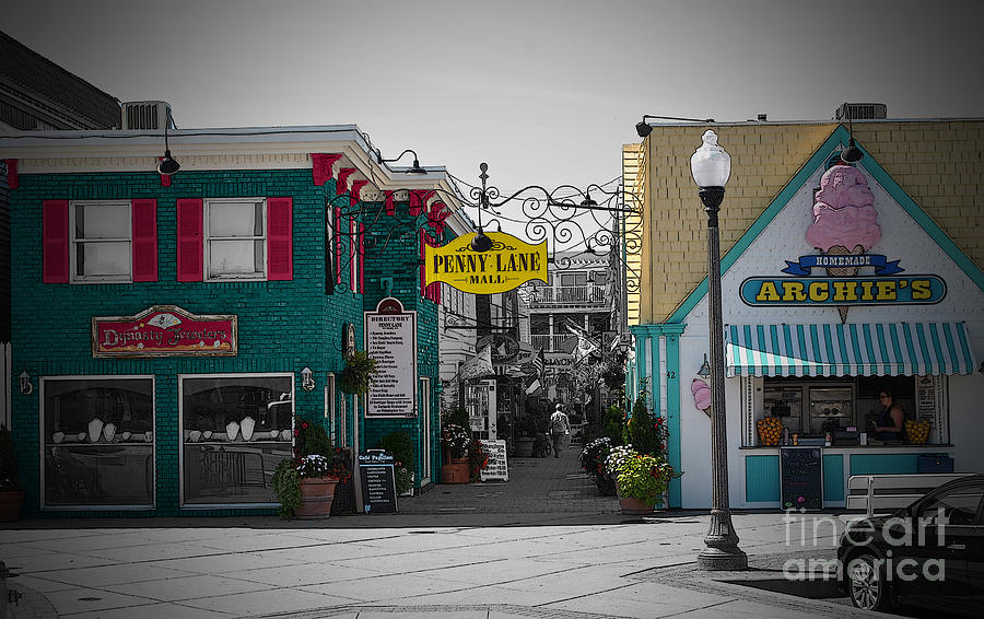 Rehoboth Photograph - Penny Lane by Jost Houk