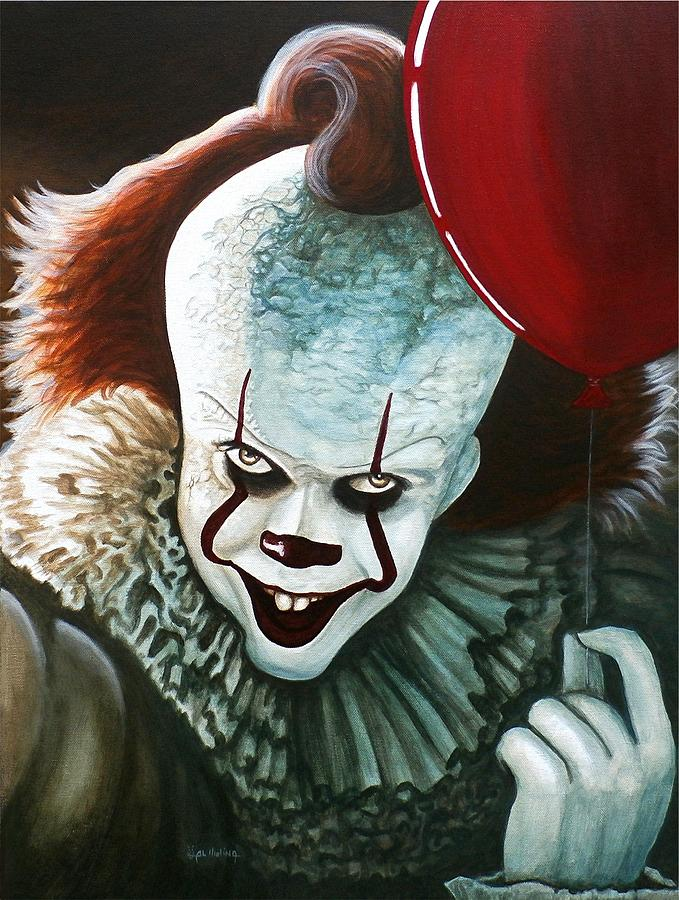 Pennywise Painting By Al Molina - It painting