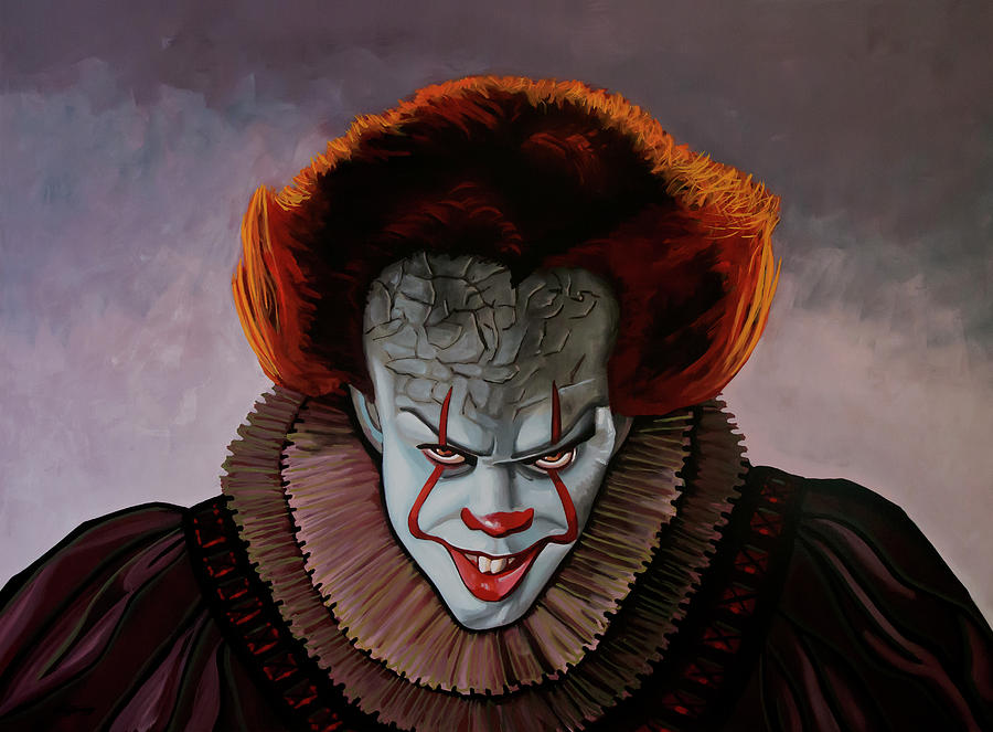 Pennywise Painting 2 by Paul Meijering