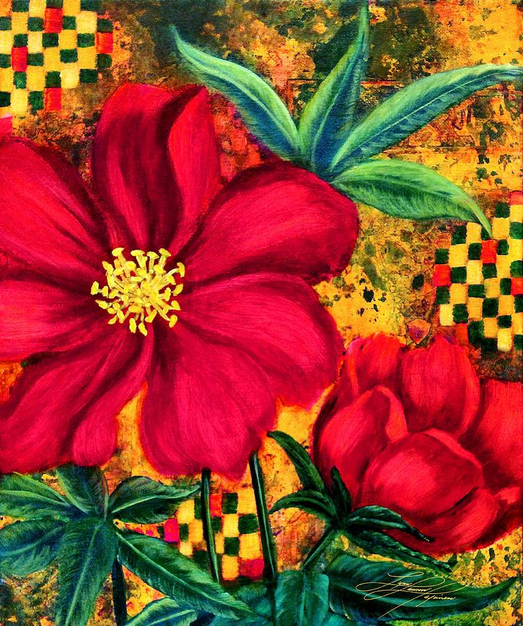 Peony Painting - Peony 2 by Lynn Lawson Pajunen