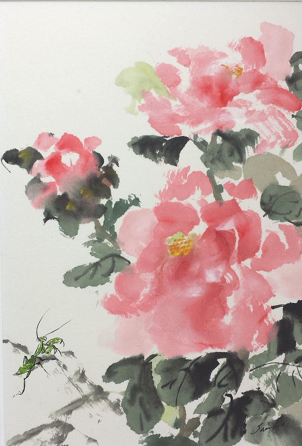 Peony Pleasure by Laurie Samara-Schlageter