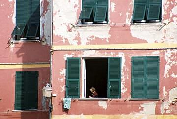 Italy Photograph - People Watching by Kathleen M
