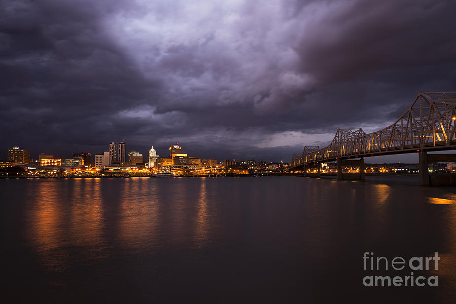 Peoria Dramatic Skyline by Andrea Silies