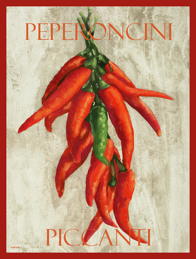 Peperoncini Piccanti Painting