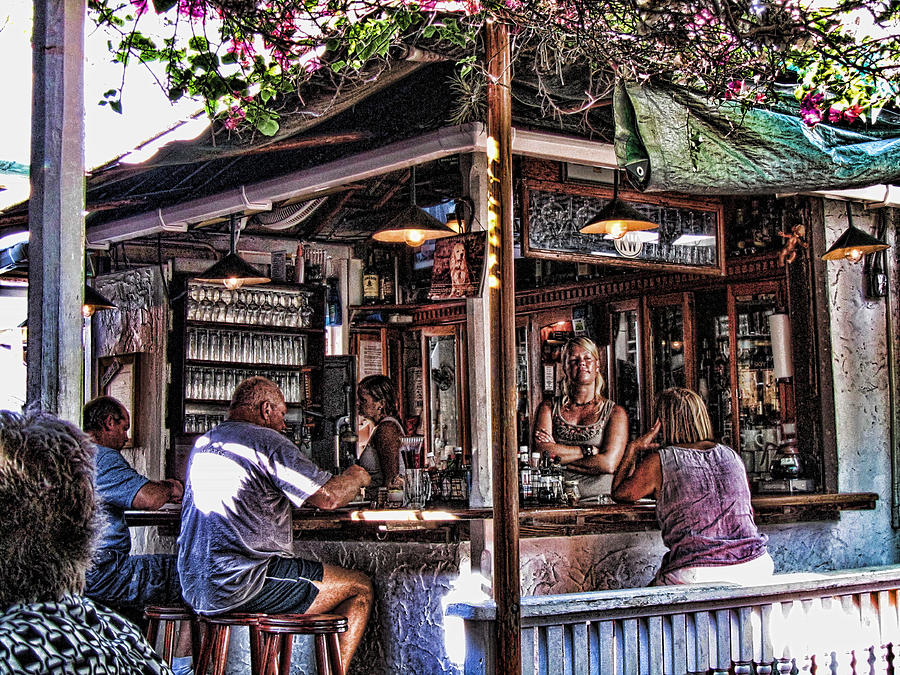 Key West Photograph - Pepes Cafe by Joetta West