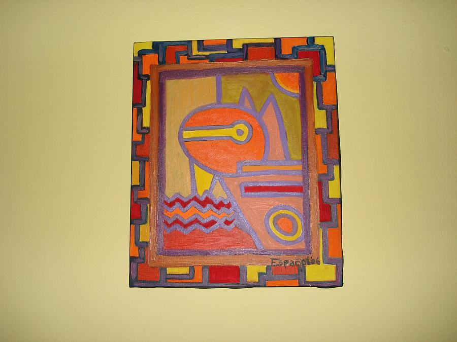 Pepis Hall Painting by Laura  Espanol