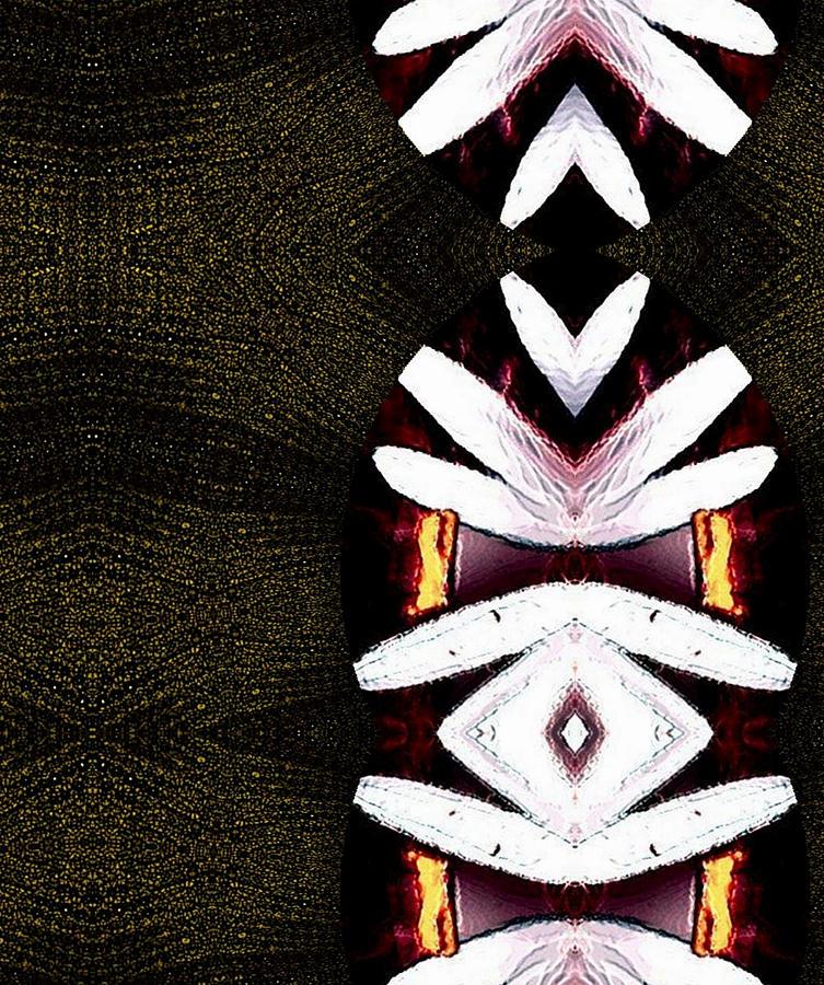 Oriental Mixed Media - Pepitas Oriental Art by Pepita Selles
