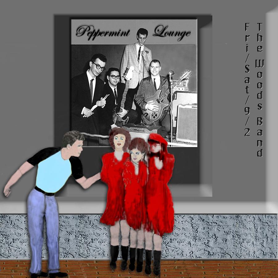 Band Photograph - Peppermint Lounge by Jerry White