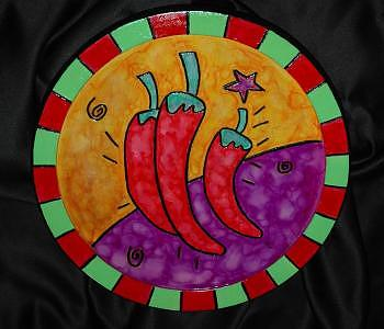 Peppers Mixed Media by Mickie Boothroyd