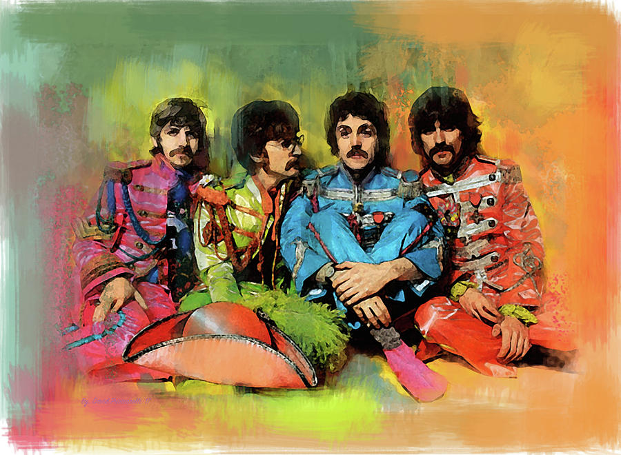 Peppers  The Beatles by Iconic Images Art Gallery David Pucciarelli