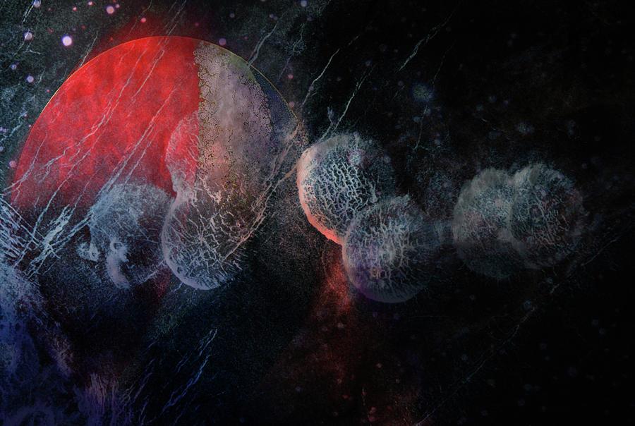 Space Digital Art - Pepsi Space Galaxy by Rajat k Pandit