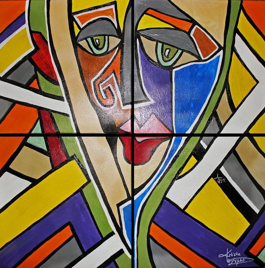 Colorful Painting - Perception Collection by Artista Elisabet