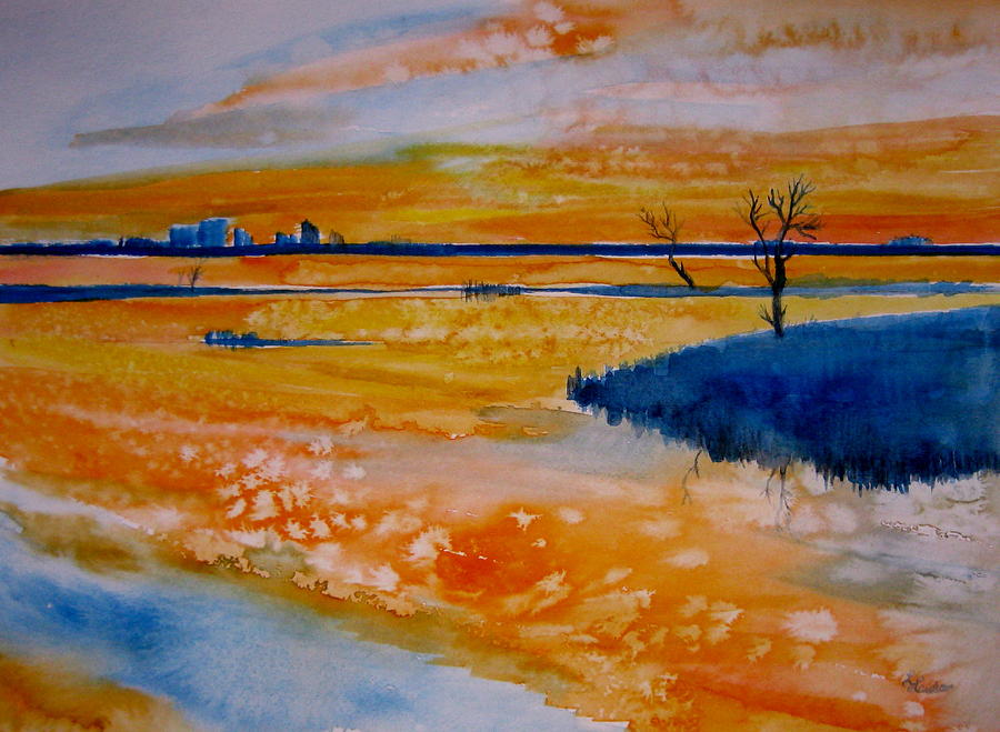 Watercolor Painting - Perdido Key by L Lauter