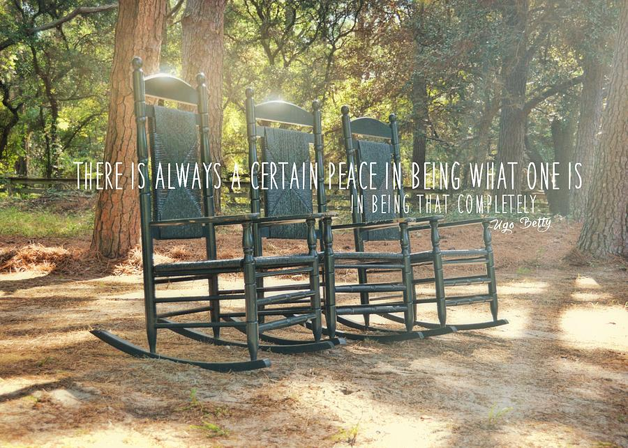 Corolla Photograph - Perfect Peace Quote by JAMART Photography