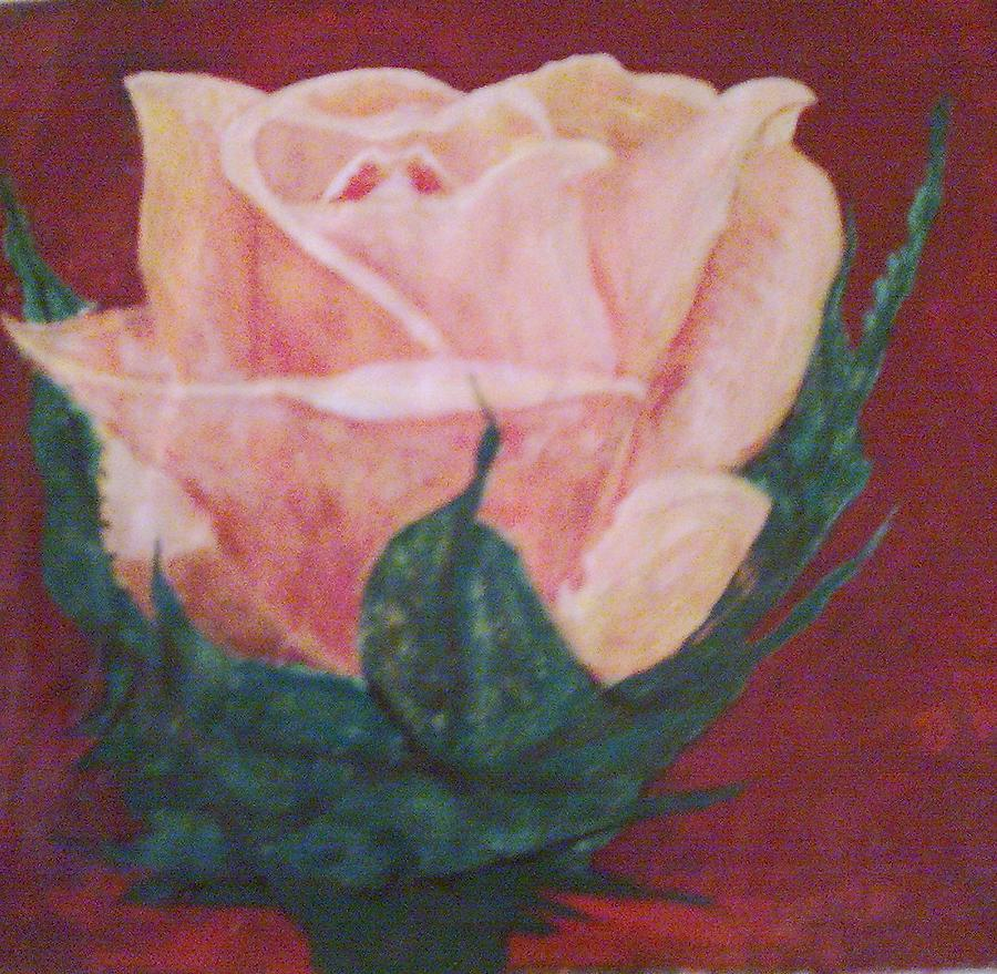 Perfect Rose Painting by Helen Vanterpool