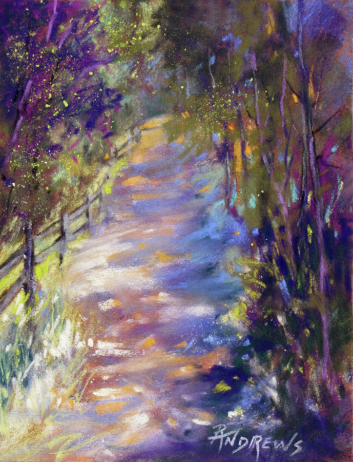Landscape Painting - Perfect Walk by Rae Andrews