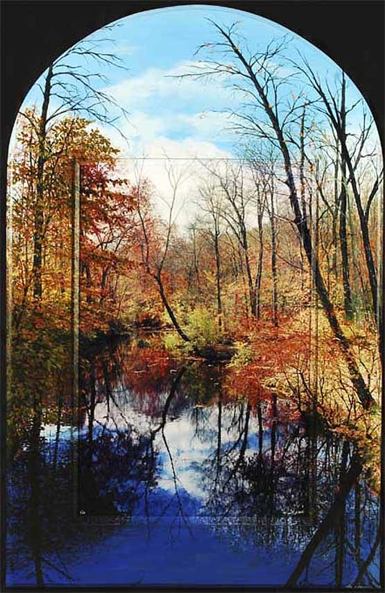 Fall Photograph - Perfection Arched Top by Michael Albin