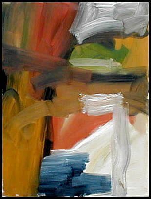 Abstract Expressionism Painting - Period I by Robert Standlee