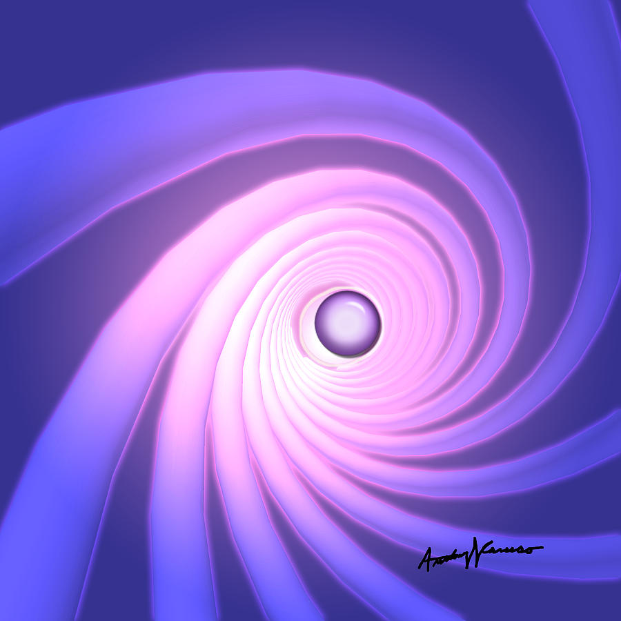 Abstract Digital Art - Peristalsis by Anthony Caruso