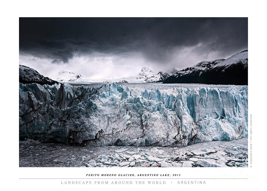 Perito Moreno Glacier, Argentinio Lake, 2013 by Alejandro Sala