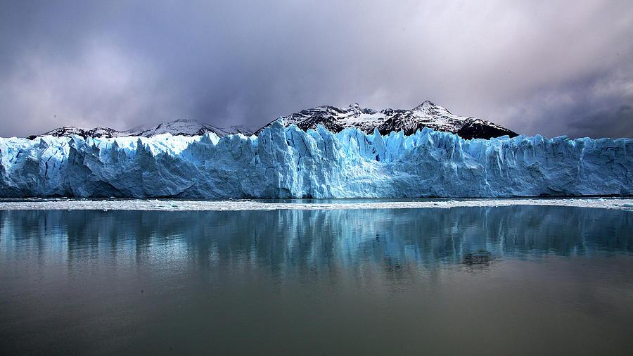 Perito Moreno Glacier Reflection by Stephen Dennstedt