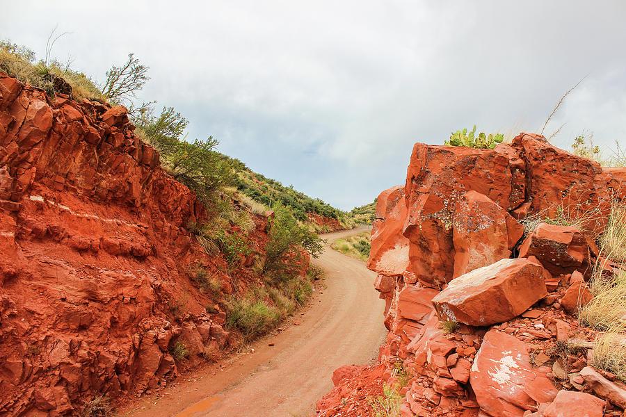 Arizona Photograph - Perkinsville Road by Jess Berry