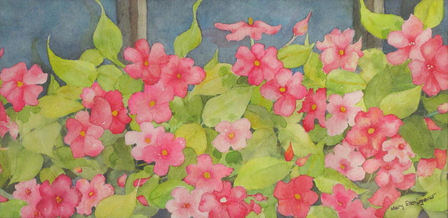 Flowers Painting - Perky by Mary Ellen Mueller Legault