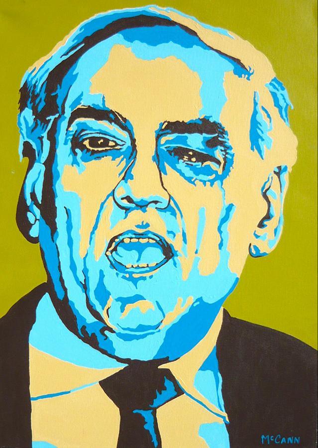 Politics Painting - Perle by Dennis McCann