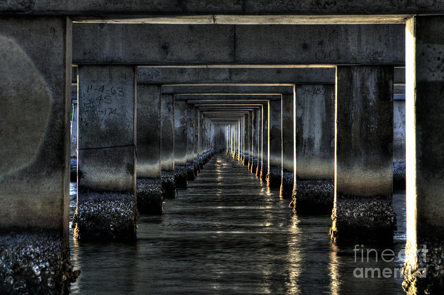 Tunnel Photograph - Perpectives by Michael Herb