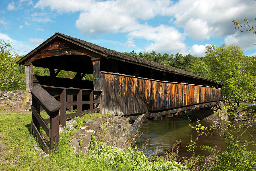 Architecture Photograph - Perrines Bridge in May by Jeff Severson
