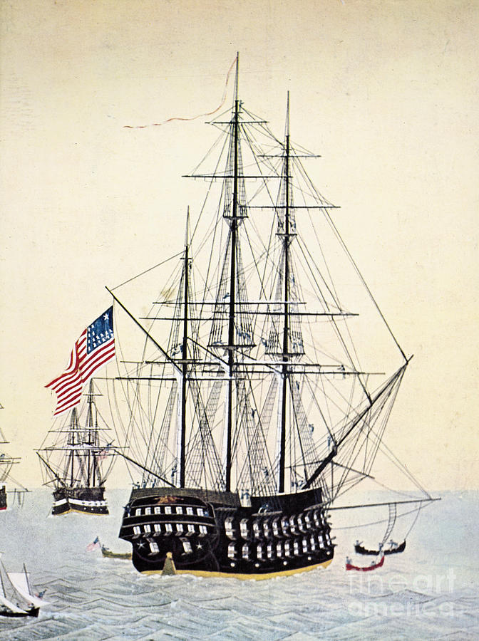 1854 Painting - Perrys Expedition To Japan by Granger