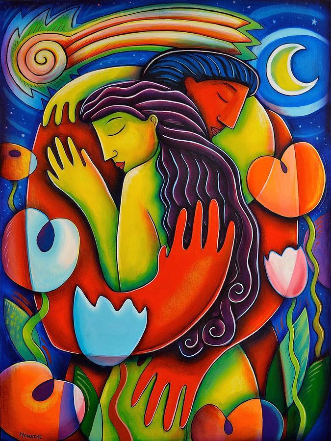 Love Painting - Perseids by Paul Honatke