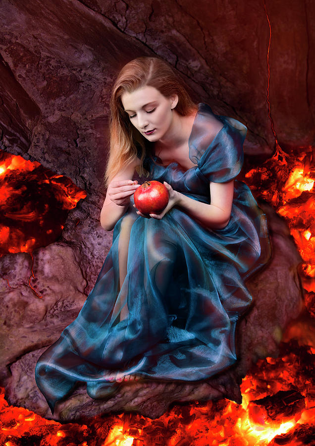 Persephone Photograph - Persephone, Greek Mythological Goddess by Debra Jayne