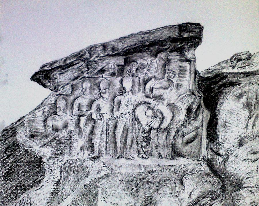 Persepolis Drawing by Sarah Khalid Khan