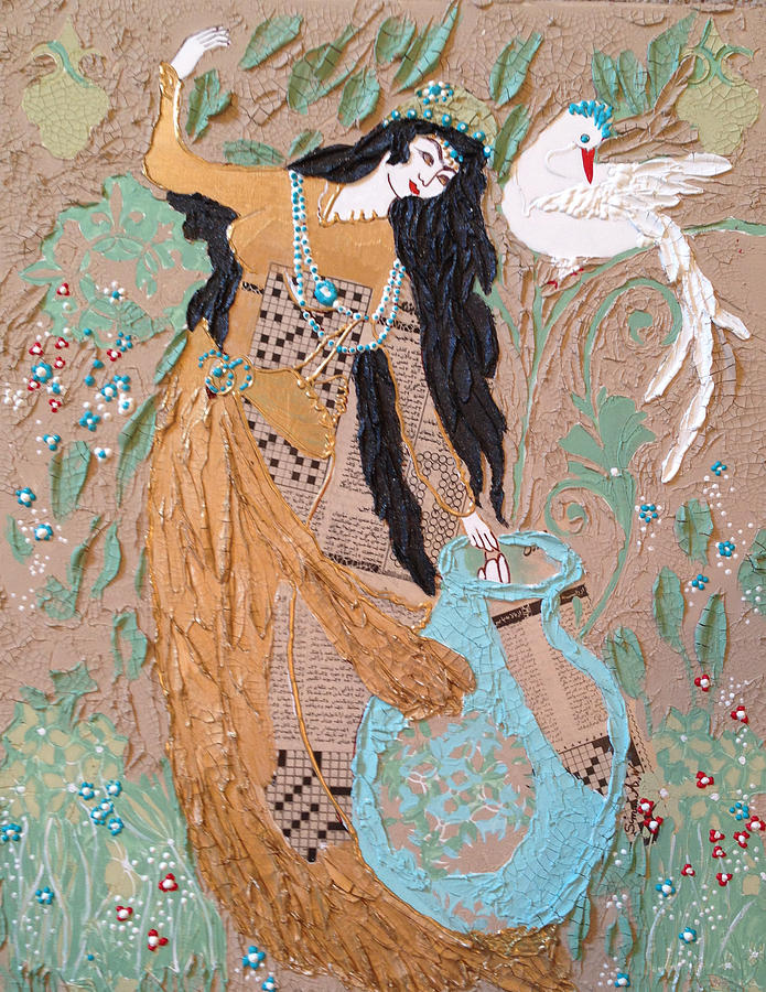 Persian painting 3D by Sima Amid Wewetzer