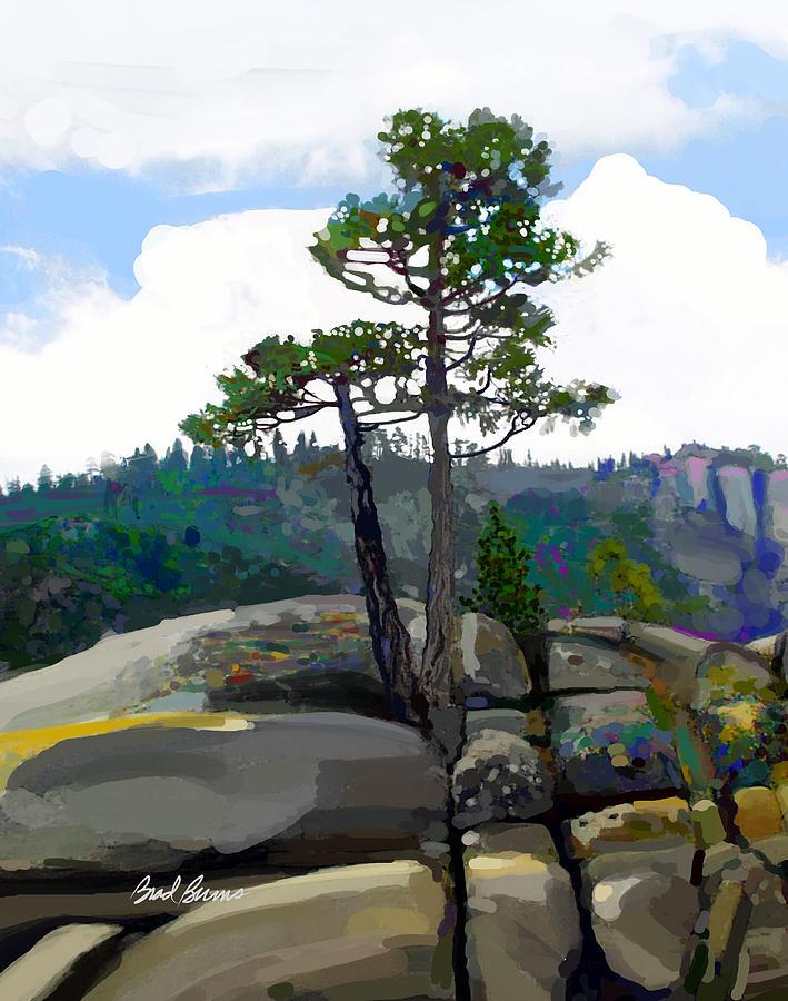 Persistence Tree Painting