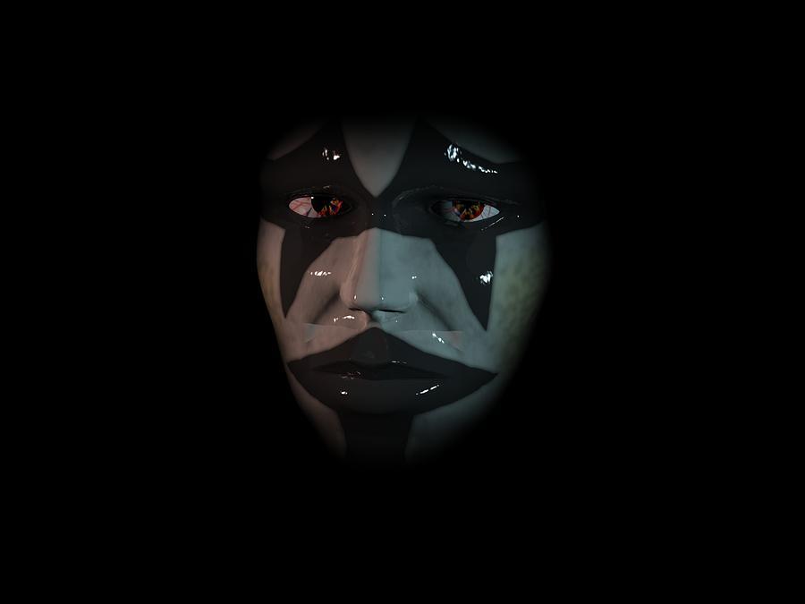 Portrait Digital Art - Persona by Mariusz Loszakiewicz