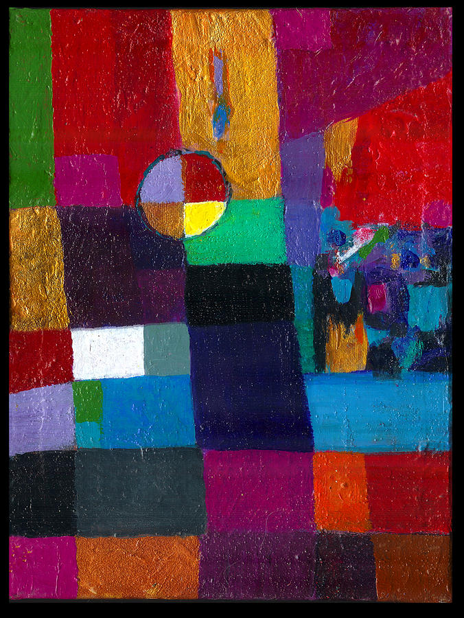 Personal Meditation Artifact Painting by Jack Hernon