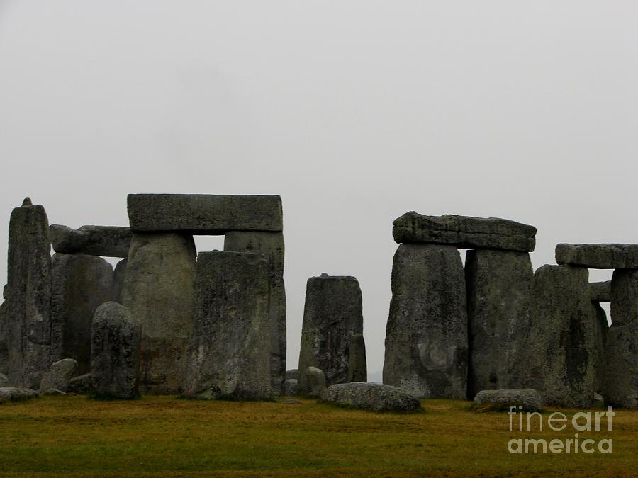 Stonehenge Photographs Photograph - Perspective by Priscilla Richardson