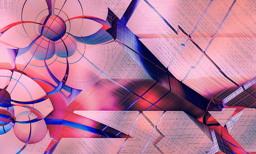 Perspectives Digital Art - Perspectives #67 by Romain Noir