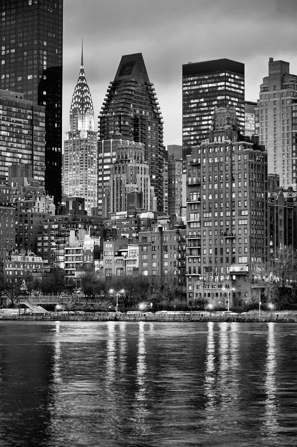 Gotham Photograph - Perspectives V Bw by JC Findley